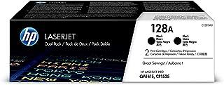 HP 128A   CE320AD   2 Toner Cartridges   Black