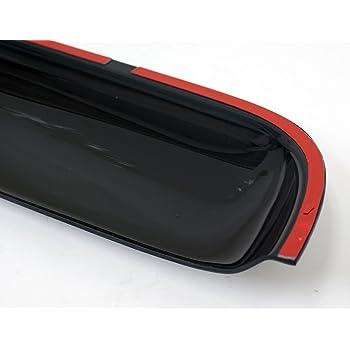 TuningPros DSV-210 compatible with 2003-2007 Honda Accord Sedan Sunroof Moonroof Top Wind Deflector Visor Thickness 1.4mm 980mm 38.5 Dark Smoke Set of 1