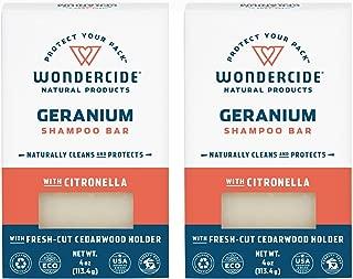 wondercide shampoo bar