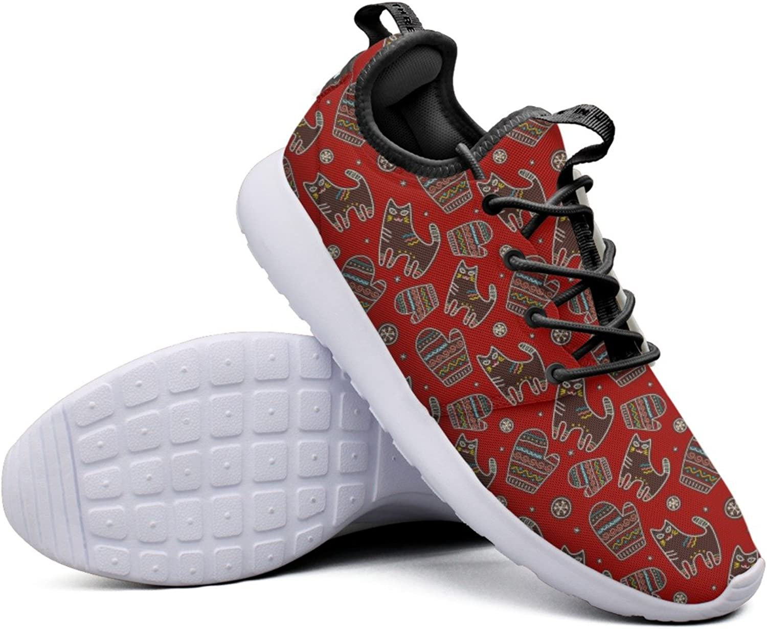 Fashion Sneakers shoes For Women Kittens Scandi Mittens Stylish Lightweight Breathable Mesh Womens Tennis shoes