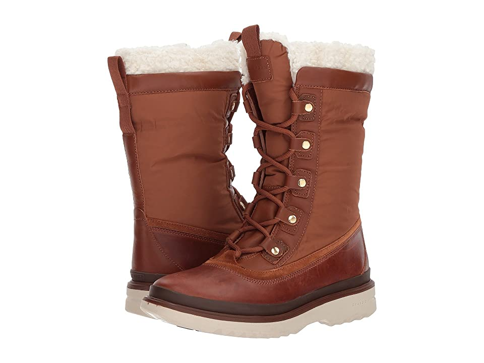 Cole Haan Millbridge Lace-Up Boot Waterproof (Woodbury Leather) Women