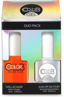 Color Club Gel Duo Pack Gel + Nail Lacquer FULL COLLECTION (pick your color) (Wham! Pow! #GELN03)