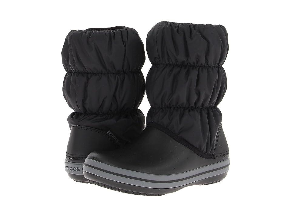 UPC 883503941151 product image for Crocs Winter Puff Boot (Black Charcoal) Women s  Boots ... 6b57dbd0ca8