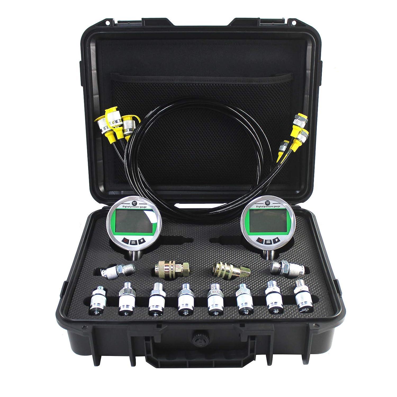 Rare SINOCMP Digital Virginia Beach Mall Pressure Gauge Kit with Pressur 2 80MPA 12000PSI