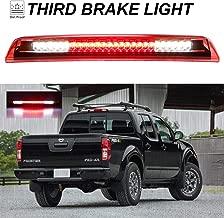 Sanzitop Fit for 04-15 Nissan Titan 05-16 Nissan Frontier LED 3rd Brake Light Rear Tail Brake Light Cargo Lamp Rear Lamp 26590-EA800 (Chrome Housing Red Lens)