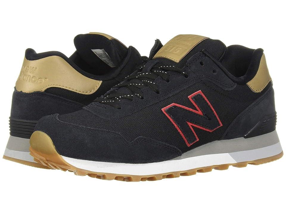 New Balance Classics ML515v1 (Black/Hemp) Men's Classic Shoes