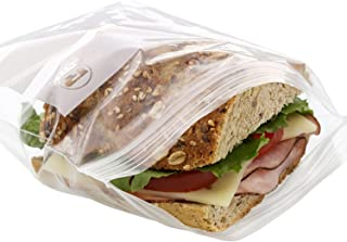 Royal Double Zipper Sandwich Bags, 6.5 Inch x 6 Inch, Package of 500