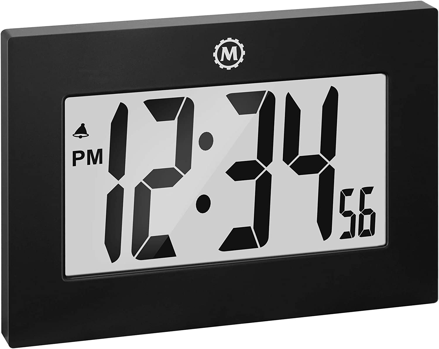 Marathon CL030064 Large Digital Regular discount Wall Fold-Out Table Nippon regular agency S with Clock