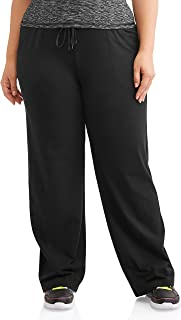 ec6eb395c19 Athletic Works Women s Plus-Size Dri-More Core Relaxed Fit Workout Pant