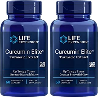 Super Bio Curcumin 400 mg - 60 ct (Pack of 2) (Packing May vary)