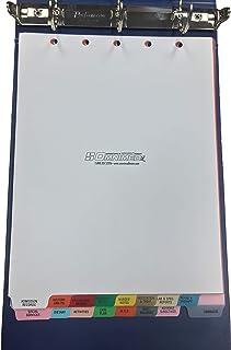 Omnimed 220910 Intercalaires pré-imprimés avec ouverture par le haut 16 onglets