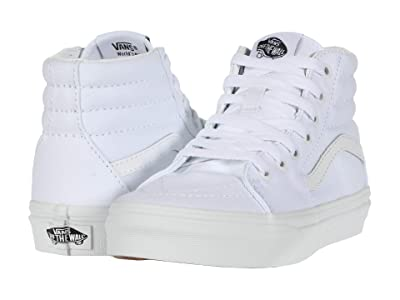 Vans Kids SK8-Hi (Little Kid) (True White/True White) Kids Shoes