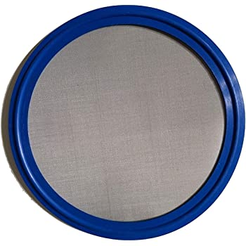 2 Tri Clover 20 Mesh 841 Micron Brewery Gaskets Brand Sanitary Bonded Screen Gasket Tri Clamp FKM Viton
