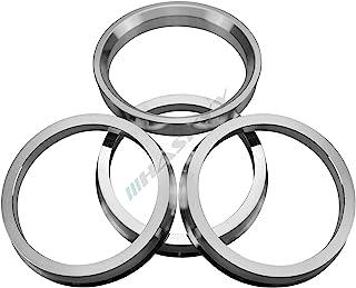 4x in Alluminio anelli di centraggio in alluminio //// Dimensione 71,6-67,1