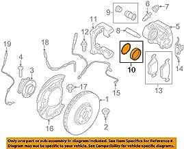 BMW Genuine Front brake Repair Kit - Brake Caliper for 525i 528i 525i 525xi 530i 530xi 545i 550i 528i 528xi 535i 535xi 550i 530xi 535xi 645Ci 650i 650i 645Ci 650i 650i 745i 750i 760i 745Li 750Li 760Li X5 3.0si X5 3.5d X5 4.8i X5 35dX X5 35iX X6 35iX Hybrid X6 M Coupé M3 M3 M3 M3 M3 M3 740i 750i 750iX ALPINA B E39 E60 E60N E61 E61N E63 E63N E64 E64N E65 E66 E70 E70N E71 E72 E82 E90 E90N E92 E92N E93 E93N F01 F01N F02 F02N F04 F06 F07 F10 F12 F13 RR4