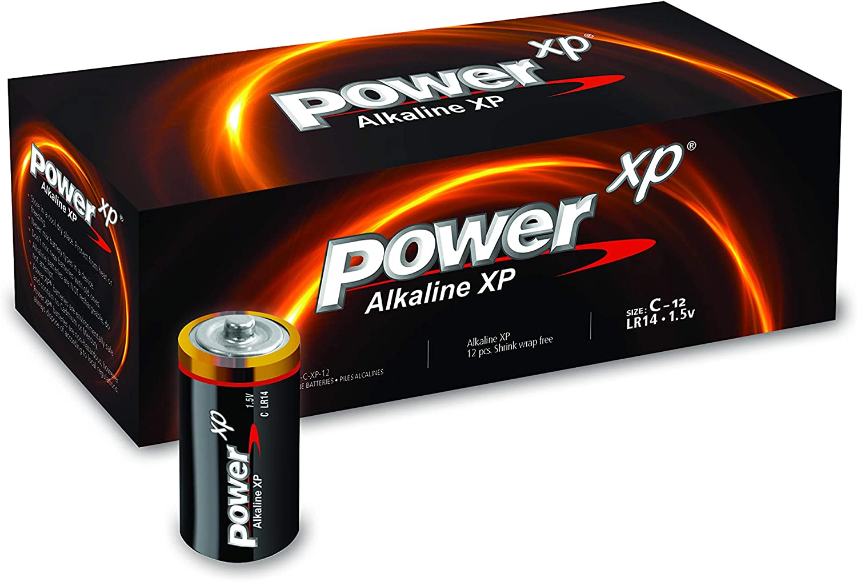 excellence C Battery Power XP Advanced Pack 12 favorite Alkaline