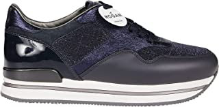 Luxury Fashion | Hogan Women HXW2220N622LKX0501 Blue Other Materials Sneakers | Spring-summer 20