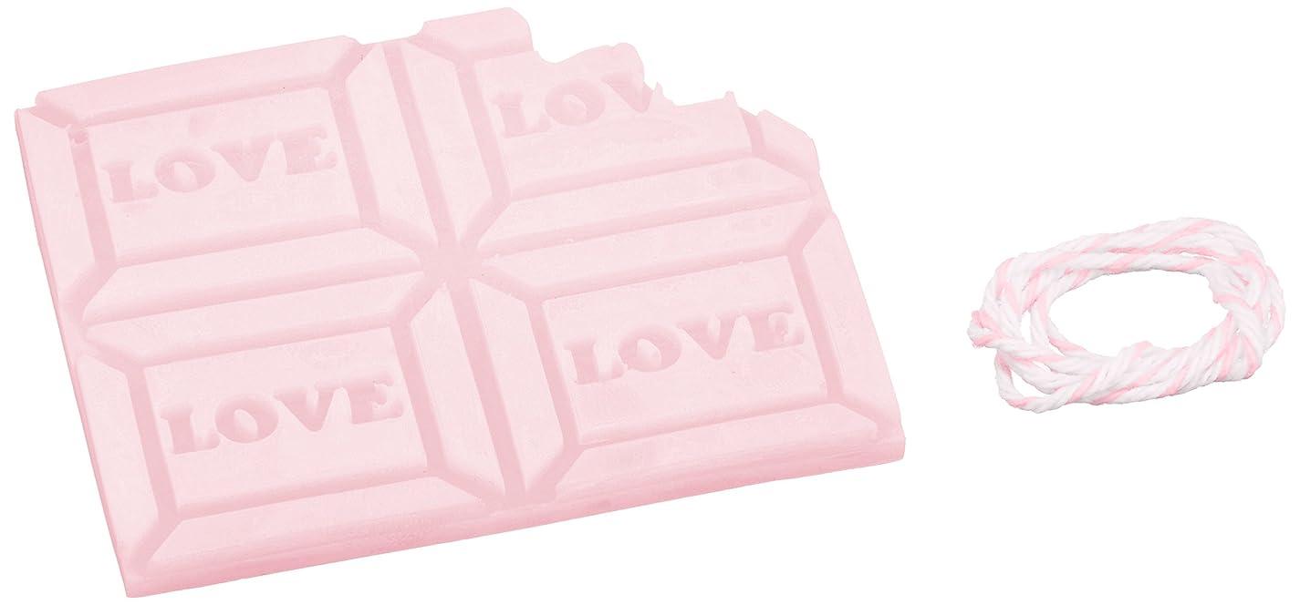 横特徴づけるびっくりGRASSE TOKYO AROMATICWAXチャーム「板チョコ(LOVE)」(PI) ゼラニウム アロマティックワックス グラーストウキョウ