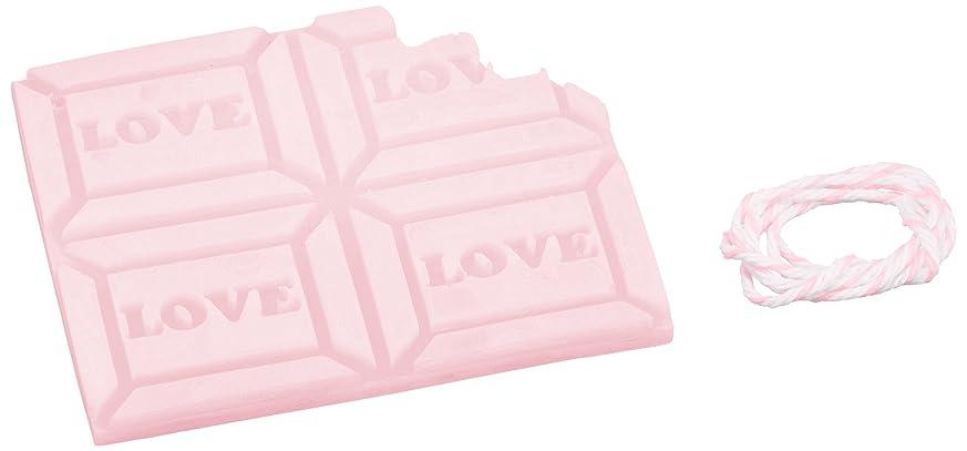 トランジスタちょうつがい完全に乾くGRASSE TOKYO AROMATICWAXチャーム「板チョコ(LOVE)」(PI) ゼラニウム アロマティックワックス グラーストウキョウ