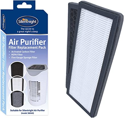 Silentnight 38063 Set of Replacement Filters for Air Purifier