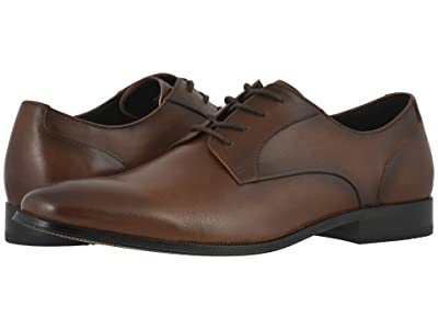 Florsheim Jetson Plain Toe Oxford (Cognac Smooth) Men