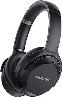 Mpow H12 IPO Auriculares con Cancelación Activa de Ruido, 40hrs de Reproducir, Micrófono CVC 8.0, Auriculares Diadema Blue...