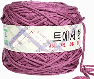 Milk Cotton Thick Yarn 0206 knitting Yarn Scarf Yard Warm&Soft Yarn, Darkled(17)