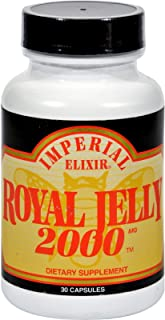 Imperial Elixirs, Royal Jelly 2000mg, 30 Capsules