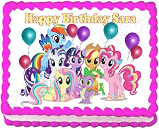 Cakes for Cures My Little Pony Party Edible Cake Image Cake Topper Frosting Sheet Decoration