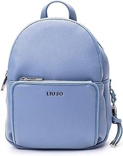 Luxury Fashion   Liu Jo Womens AA0087E022174111 Light Blue Backpack   Spring Summer 20