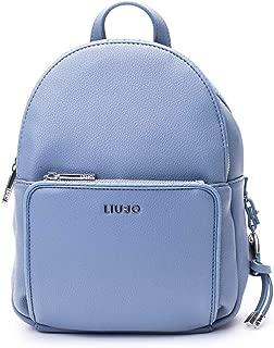 Luxury Fashion | Liu Jo Womens AA0087E022174111 Light Blue Backpack | Spring Summer 20