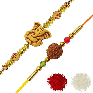 YouBella Rakhi Combo for Brother (Multi-Colour) (YBRK_70)