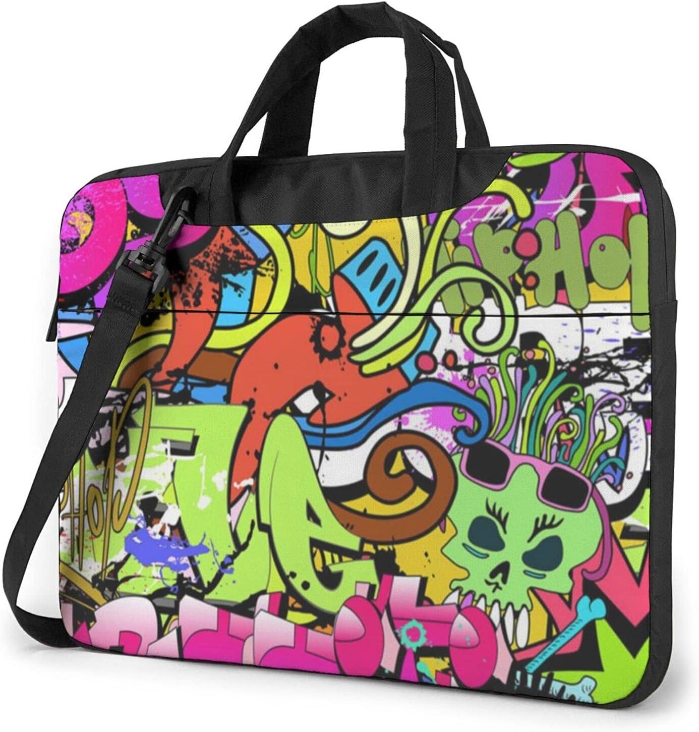 Funky Wall Art Classic Popular Slim Bag De Crossbody Briefcase It is very popular Shoulder