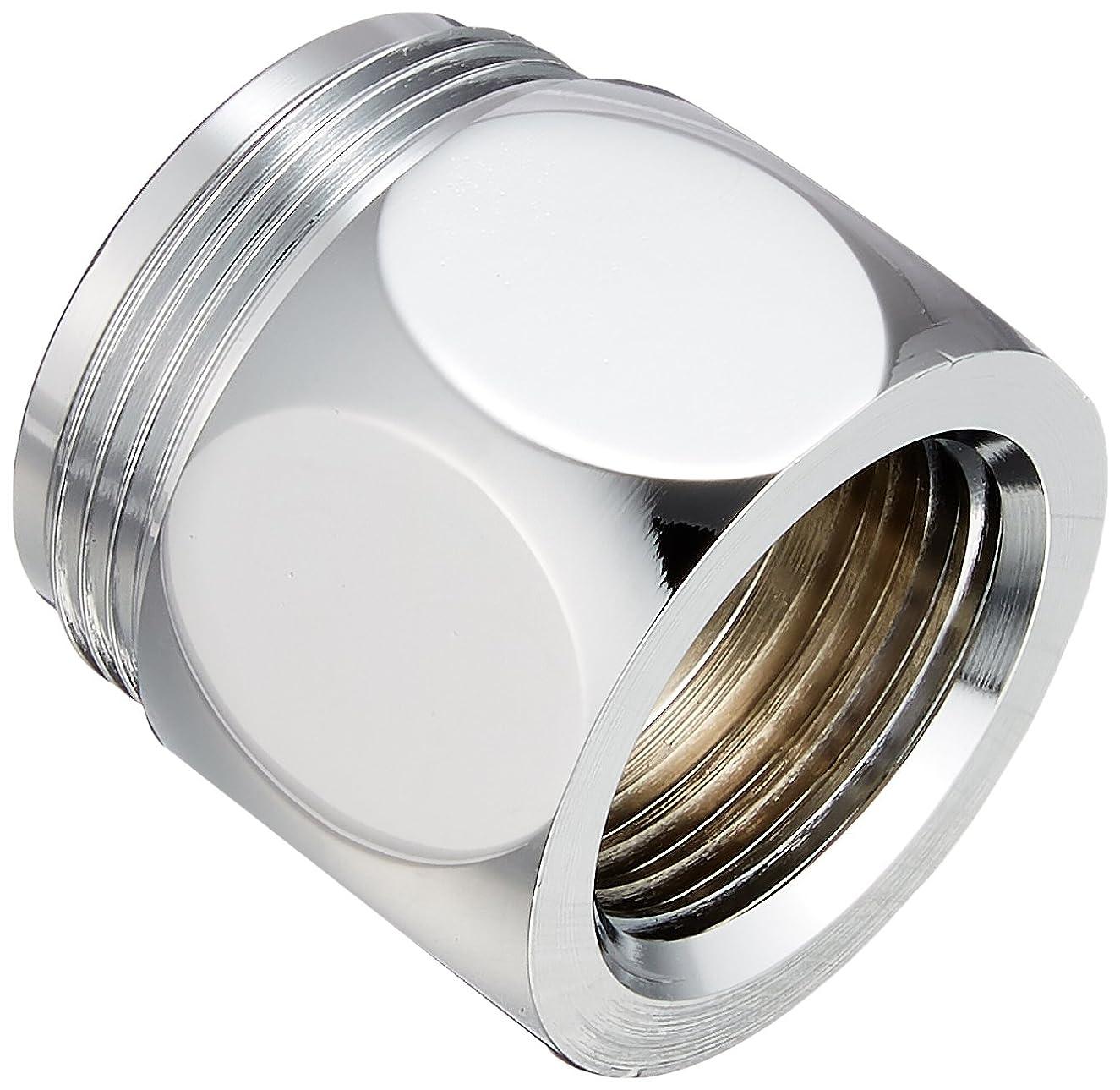 窓慈善ピアノSANEI 【水栓サイズ切替アダプタ】パイプアダプター (G1/2ネジに16mmパイプを取付時に使用) PT35-25S