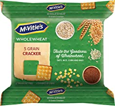 McVities 5 Grain Crackers Pouch, 120 g