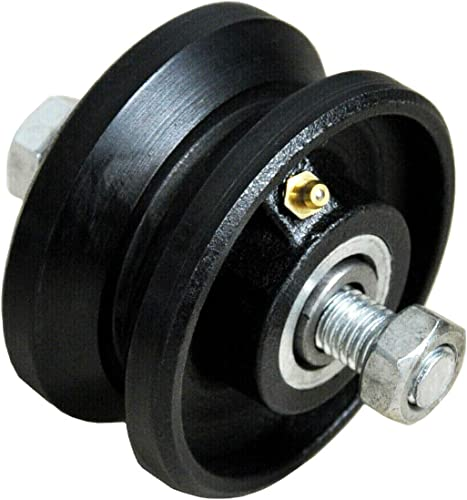 """new arrival 3"""" new arrival inch V Groove Caster Cast Iron Wheel - V Groove Caster Wheels - V Groove Wheel for Sliding Gate - 3"""" Inch V Groove Caster Wheel - Cast Iron V Groove Wheel for wholesale Rolling Sliding Gates (2) online"""