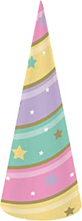 Sparkle Unicorn Horn Hat, 24 ct