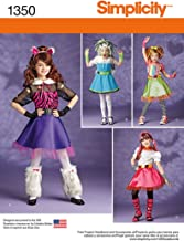 Simplicity Creative Patterns 1350 Child's and Girls' Sewing Patterns, Size K5 (7-8-10-12-14)