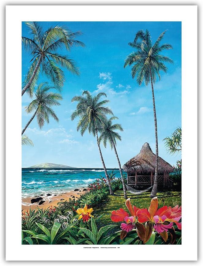 Maui Morning - Hawaiian Paradise Ocean Free shipping C an Original Elegant from View