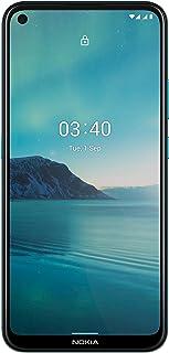 هاتف نوكيا 3.4 ثنائي شرائح الاتصال - 64 جيجا، بذاكرة رام 4 جيجا، بشبكة الجيل الرابع ال تي اي لون ازرق
