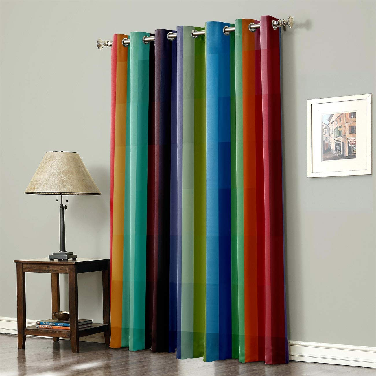 Grommet Top Curtains for お値打ち価格で Living Cu Room Treatment Bedroom Window 人気の定番