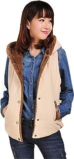 Fashion Women's Fur Vest Women Winter Coat Cardigan Beige Yellow Orange Outerwear