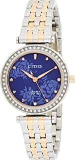 CITIZEN Womens Quartz Watch, Analog Display and Stainless Steel Strap - ER0218-53L