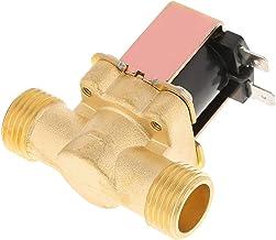 """1/2""""DC 12V normaal gesloten messing elektrisch magneetventiel, elektrisch magneetventiel 12V DC, messing elektrisch magnee..."""