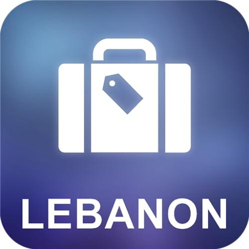 Líbano Offline Map