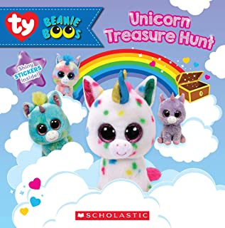 Unicorn Treasure Hunt (Beanie Boos: Storybook with stickers)