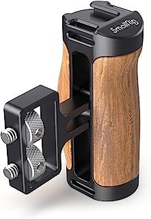 Mały drewniany uchwyt boczny SMALLRIG (śruby 1/4? 20) do klatki kamery - 2913