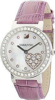 Swarovski Dress Watch Womens Quartz Fashion Watch, Analog and Leather - 1185833