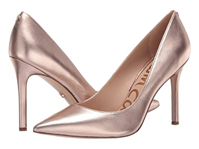 Sam Edelman Hazel (Champagne Rose Soft Metallic Sheep Leather) Women