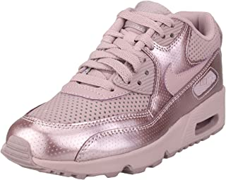 Nike Youth Air Max 90 SE LTR GS Leather Elemental Rose Trainers 3.5 US
